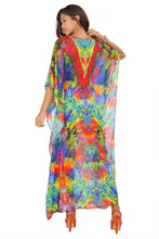 MUNDO DE COLORES - Button Front Long Caftan • Multicolor
