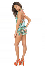 MIAMI NICE - Crochet Sexy Back Mini Dress • Multicolor