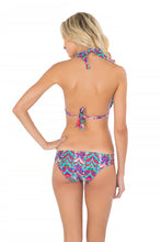 BESOS DE SAL - Triangle Halter Top & Multi Strings Full Bottom • Multicolor