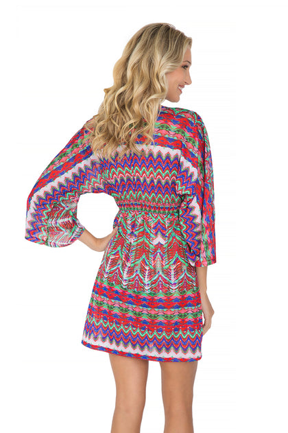 BESOS DE SAL - Long Sleeve Tunic • Multicolor