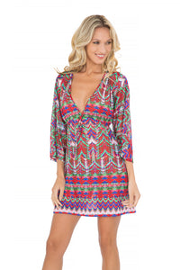 BESOS DE SAL - Long Sleeve Tunic • Multicolor (865217413164)
