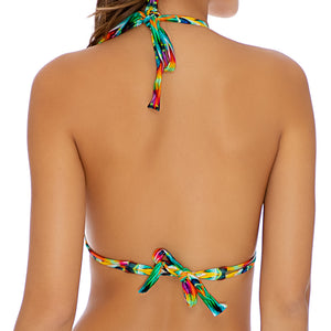 TULUM PARTY - Triangle Halter Top