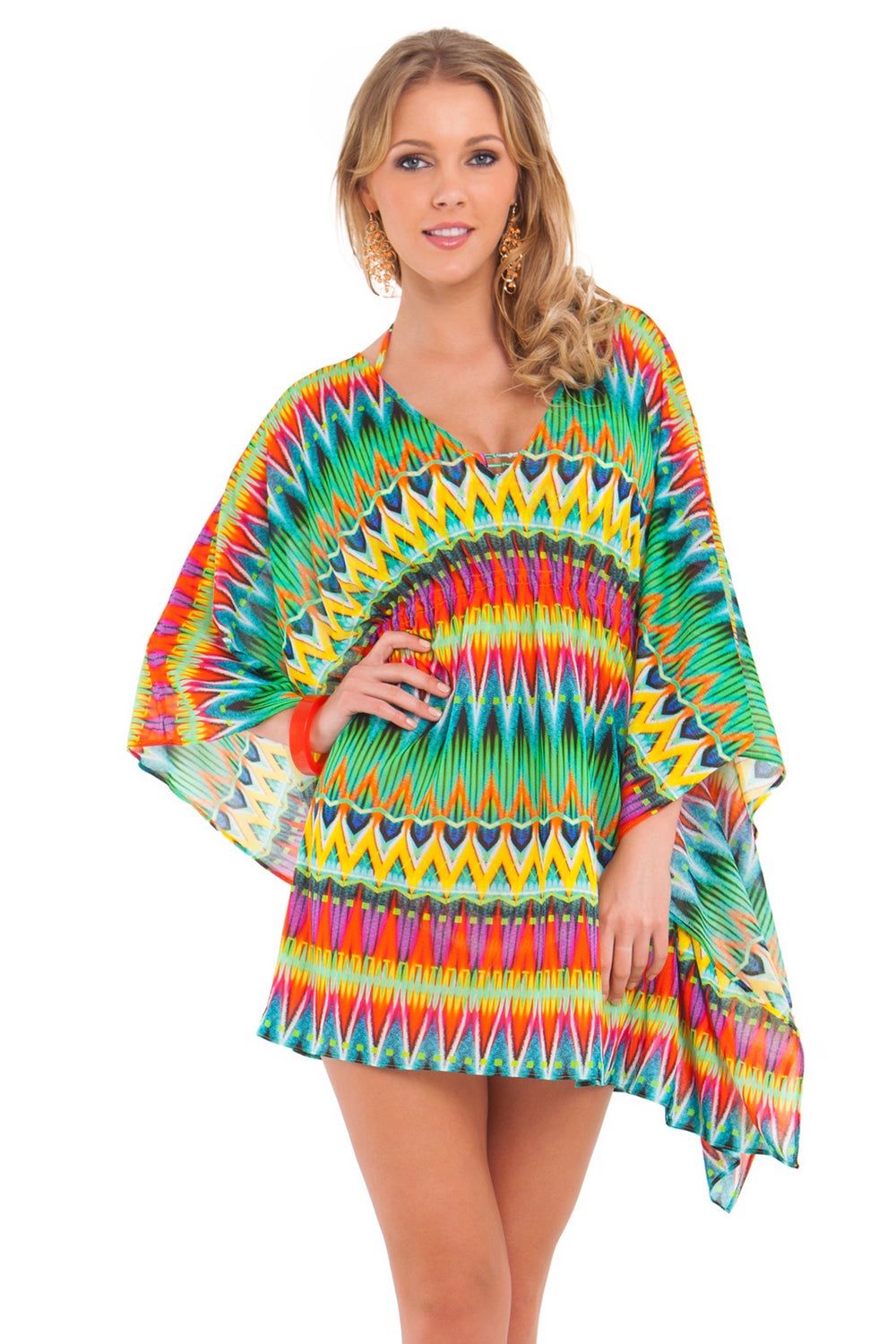 TULUM PARTY - Caftan Dress • Multicolor