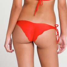 PASION Y ARENA - Wavey Ruched Back Brazilian Tie Side Bottom
