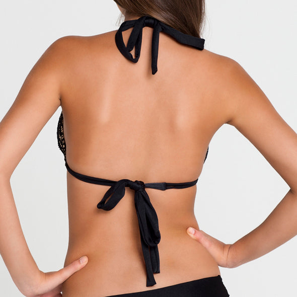 PASION Y ARENA - Triangle Halter Top
