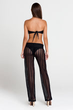 PASION Y ARENA - Cascade Bandeau Top & Poolside Pants • Black