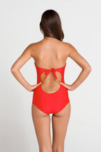 PASION Y ARENA - Semi Sheer Bandeau 1pc • Luli Red