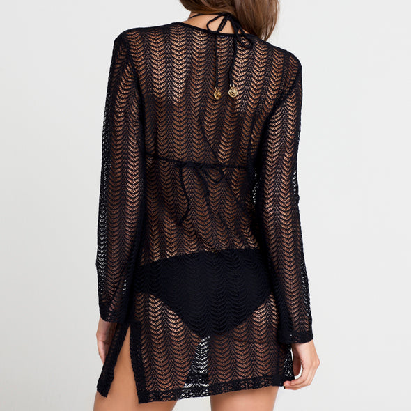 PASION Y ARENA - Plunge Dress