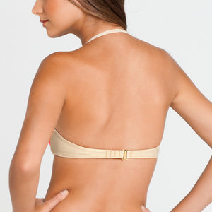 LA FAMA - Ruched Underwire Push Up Bandeau