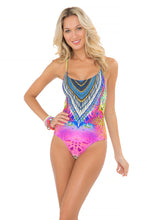 "CLANDESTINA - ""be Scene"" One Piece • Multicolor"