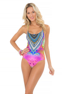 "CLANDESTINA - ""be Scene"" One Piece • Multicolor (865232912428)"