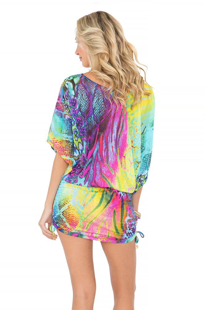 CLANDESTINA - South Beach Dress • Multicolor