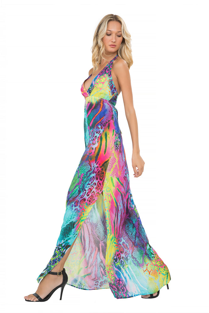 CLANDESTINA - Rooftop Gown • Multicolor