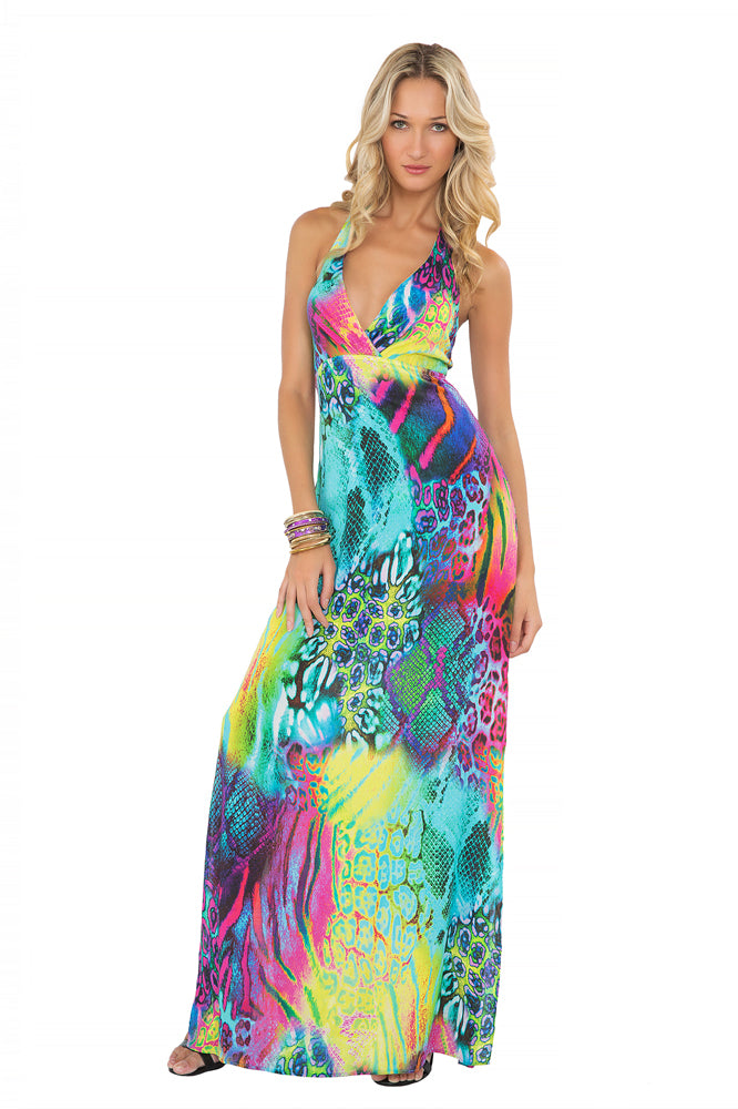 CLANDESTINA - Rooftop Gown • Multicolor (865232551980)