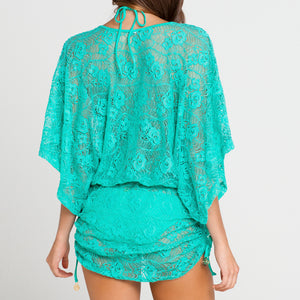 SABOR A MENTA - Cabana V Neck Dress