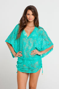 SABOR A MENTA - Cabana V Neck Dress • Sexy Siren