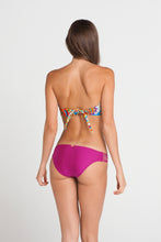 SAMBA CARACOL - Tassels Bandeau Top & Multi Strings Full Bottom • Dancing Orchid
