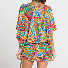 SAMBA CARACOL - Cabana V Neck Dress