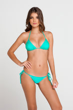 SI SOY SIRENA - Scalloped Triangle Top & Scalloped Back Brazilian Tie Side Bottom • Sexy Siren