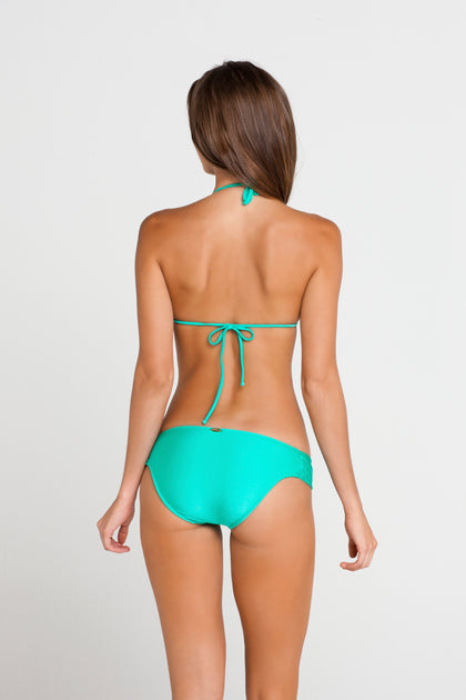 SI SOY SIRENA - Scalloped Triangle Top & Scalloped Full Bottom • Sexy Siren