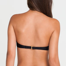 SI SOY SIRENA - Scalloped Underwire Push Up Bandeau Top