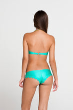 SI SOY SIRENA - Scalloped Underwire Push Up Bandeau Top & Scalloped Back Sassy Cheeks Bottom • Sexy Siren