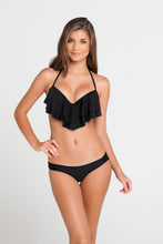 BON BON CHA CHA - Cascade Push Up Underwire Top & Seamless Thong Bottom • Black