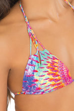 BAJO UN MISMO SOL - Zig Zag Knotted Cut Out Triangle Top & Zig Zag Open Side Moderate Bottom • Too Hot Miami (865211416620)