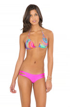 BAJO UN MISMO SOL - Zig Zag Knotted Cut Out Triangle Top & Zig Zag Open Side Moderate Bottom • Too Hot Miami