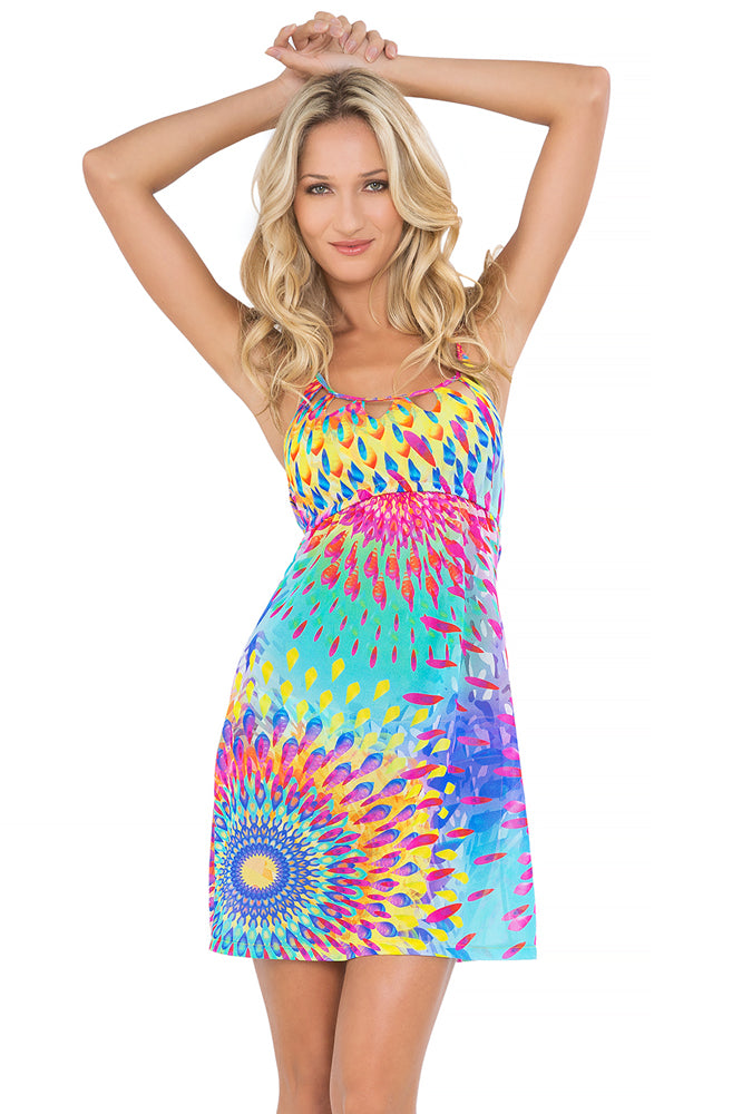 BAJO UN MISMO SOL - Cut Out Sun Dress • Multicolor (865210531884)
