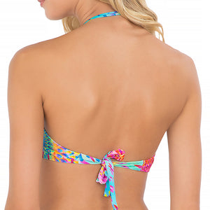 BAJO UN MISMO SOL - Zig Zag Open Center Bandeau Top
