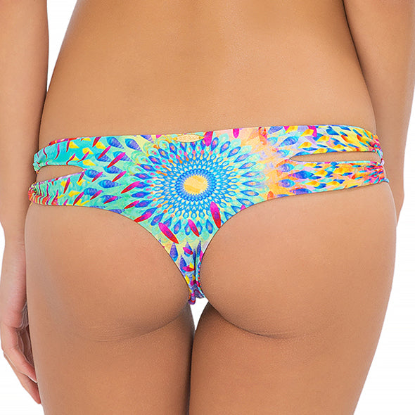 BAJO UN MISMO SOL - Zig Zag Open Side Skimpy Bottom (843258593324)