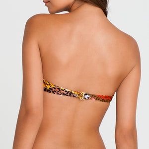 DANCING IN PARADISE - Underwire Push Up Bandeau Top