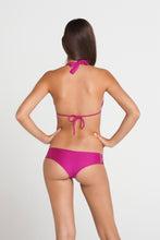 VERANO DE RUMBA - Multi Strings Triangle Top & Bootylicious Minimal Coverage Bottom • Dancing Orchid
