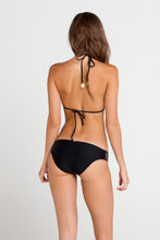 RITMO DE MI SALSA - Wavey Triangle Top & Braided Side Full Bottom • Black