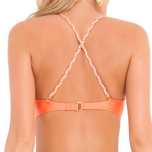 CHAMPAGNE SPARKLE - Intertwine Scoop Halter Top