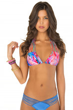 AMANECER - Multi Strings Triangle Top & Strappy Brazilian Ruched Back Bottom • Sea Angel (865198014508)