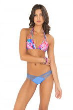 AMANECER - Multi Strings Triangle Top & Strappy Brazilian Ruched Back Bottom • Sea Angel