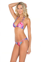 AMANECER - Multi Strings Triangle Top & Strappy Front Side Moderate Bottom • Multicolor