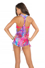 AMANECER - T Back Romper • Multicolor
