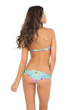 PEQUEÑO PARAISO - Ruffle Underwire Push Up Bandeau & Seamless Thong Bottom • Multicolor