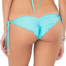 MIAMI NIGHTS - Wavey Ruched Back Brazilian Tie Side Bottom