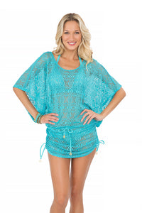 MIAMI NIGHTS - South Beach Dress • Aruba Blue