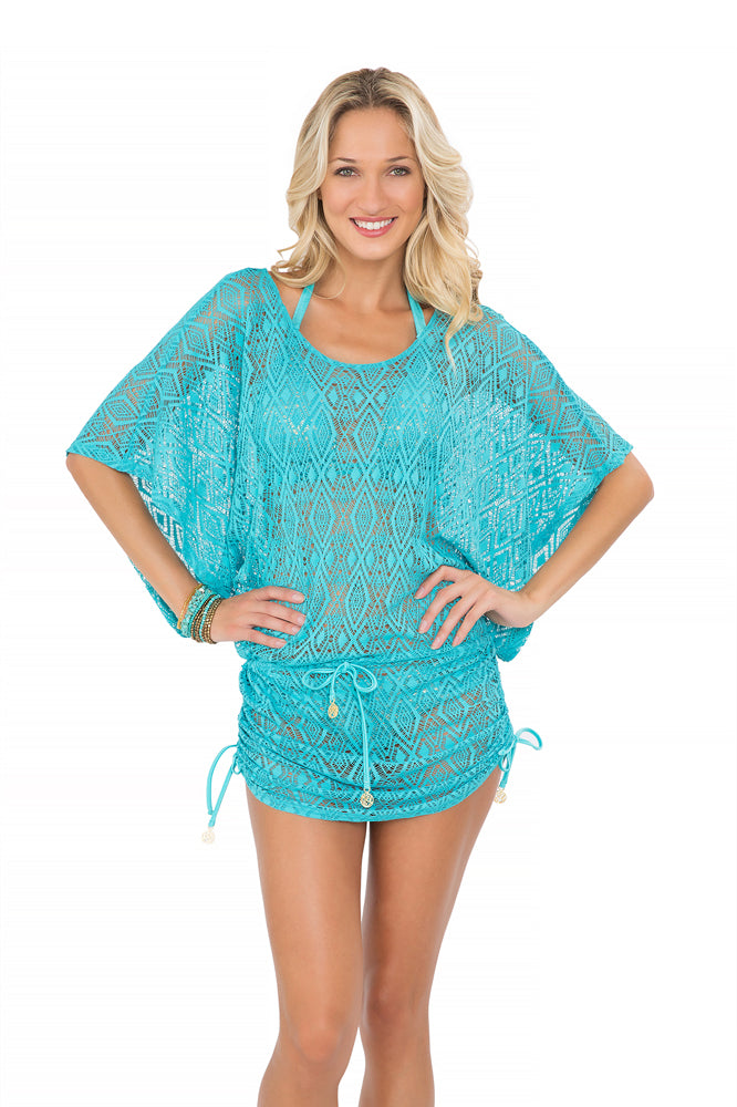 MIAMI NIGHTS - South Beach Dress • Aruba Blue (865269612588)