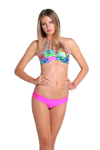 SEA SALT ANGEL - Underwire Push Up Bandeau Top & Wavey Brazilian Ruched Back Bottom • Too Hot Miami