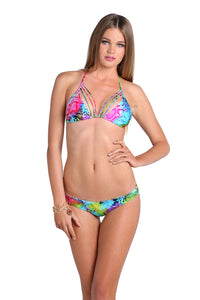 SEA SALT ANGEL - Siren String Triangle & Buns Out Bottom • Multicolor
