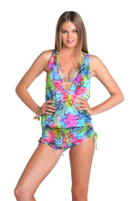 SEA SALT ANGEL - T Back Romper • Multicolor