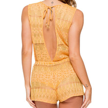 OBSESSION - Scalloped Romper