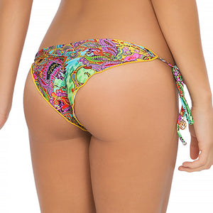 TORNASOL - Wavey Ruched Back Brazilian Tie Side Bottom