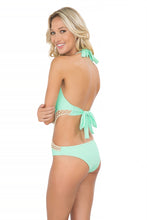 CORAZON LOCO - Crochet Cut Out Monokini • Mint Convertible